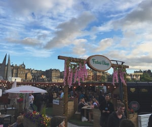 cities, festival, and scotland image