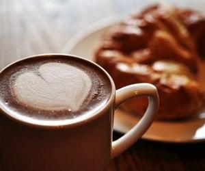 coffee, chocolate, and heart image
