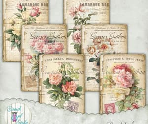 etsy, journaling, and collage sheet image