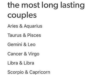 couples, life, and zodiac image