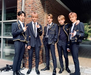 boys, kpop, and boy group image