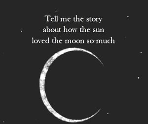 moon, poem, and quote image