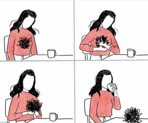 coffee, selfcare, and decompress image