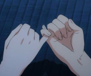 anime, aesthetic, and promise image