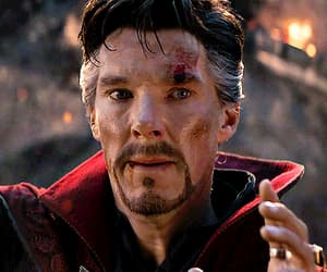 Avengers, gif, and benedict cumberbatch image