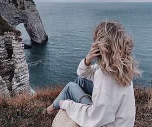 girl, places, and travel image