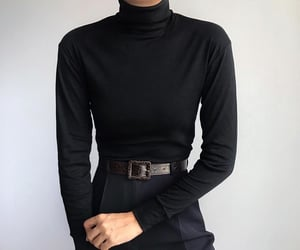 beauty, black, and clothes image