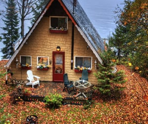 house, autumn, and home image