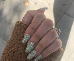 beauty, fall, and birthday nails image