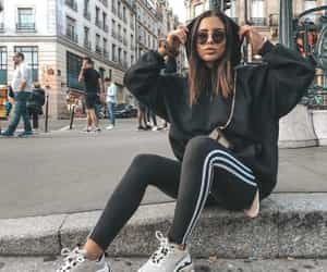 adidas, Balenciaga, and blogger image