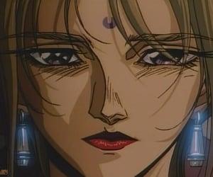 anime, woman, and gunnm image
