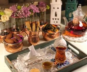 morning, tea, and صباح الخير image