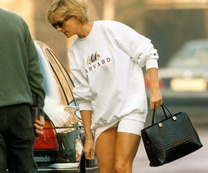 fashion, lady di, and street style image