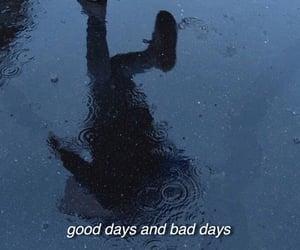 aesthetic, bad, and rain image