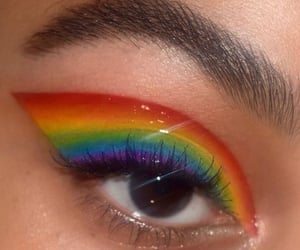 lgbtq, make up, and maquillage image