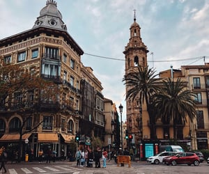city, spain, and valencia image