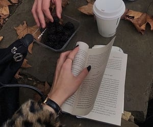 book, fall, and aesthetic image