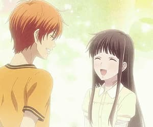anime, fruits basket, and love image