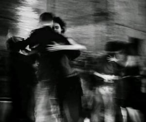 black, couple, and dance image