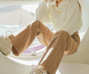 autumn, korean, and pants image