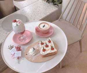aesthetic, food, and pink image