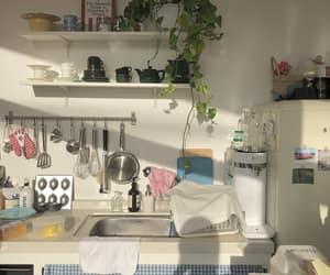 aesthetic, kitchen, and minimalist image