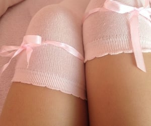 legs, nsfw, and pink image