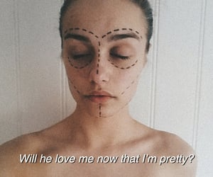 aesthetic, face, and feminism image