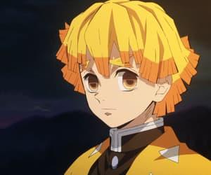 anime, anime boy, and agatsuma zenitsu image