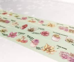 masking tape, gardening planner, and gardening sticker image