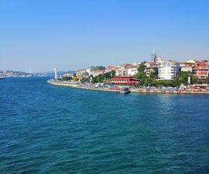 istanbul, deniz, and kız kulesi image