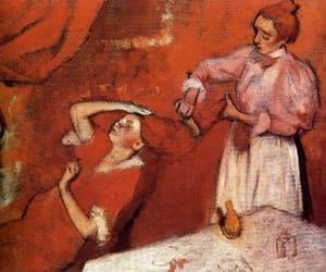 art, painting, and edgar degas image