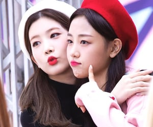 yves, kim lip, and loona image