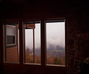 clouds, view, and window image
