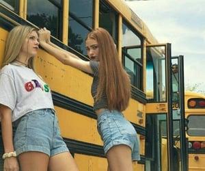 girls, school, and teen image