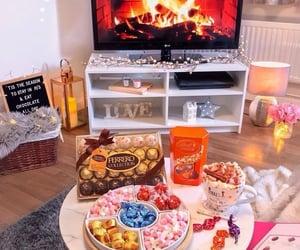 chocolates, bombones, and movies night image
