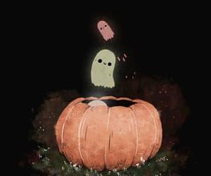 art, pumpkin, and autumn image