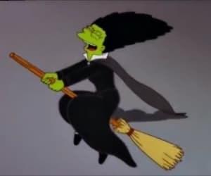 Halloween, simpsons, and spooky image