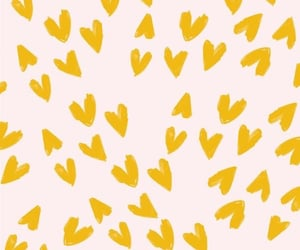 wallpaper, pattern, and yellow image