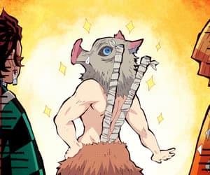 anime, kny, and funny image