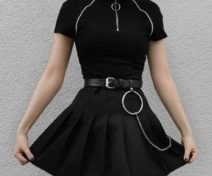 alternative, black, and chain image