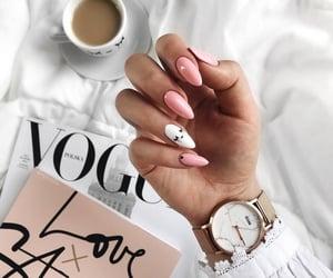 coffee, fashion, and pink image