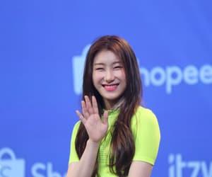 itzy, chaeryeong, and lee chaeryeong image