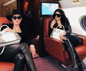 kylie jenner, kris jenner, and fashion image