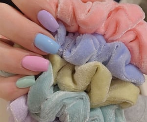 nails, aesthetic, and pastel image
