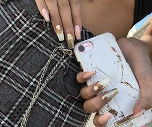 glitter, nail art, and love image