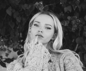 black and white, cover, and dove cameron image