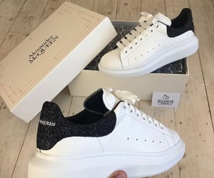 Alexander McQueen, fashion, and sneakers image