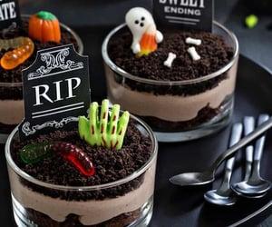 food, chocolate, and Halloween image
