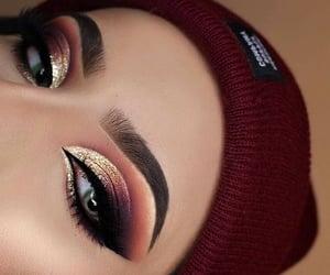 eyeshadow, girl, and icon image